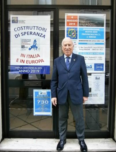 Il Presidente Provinciale Giorgio Scotto